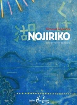 Nojiriko Renaud Gagneux Partition Piano - laflutedepan