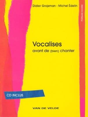 Vocalises - Grojsman Didier / Edelin Michel - Livre - laflutedepan.com