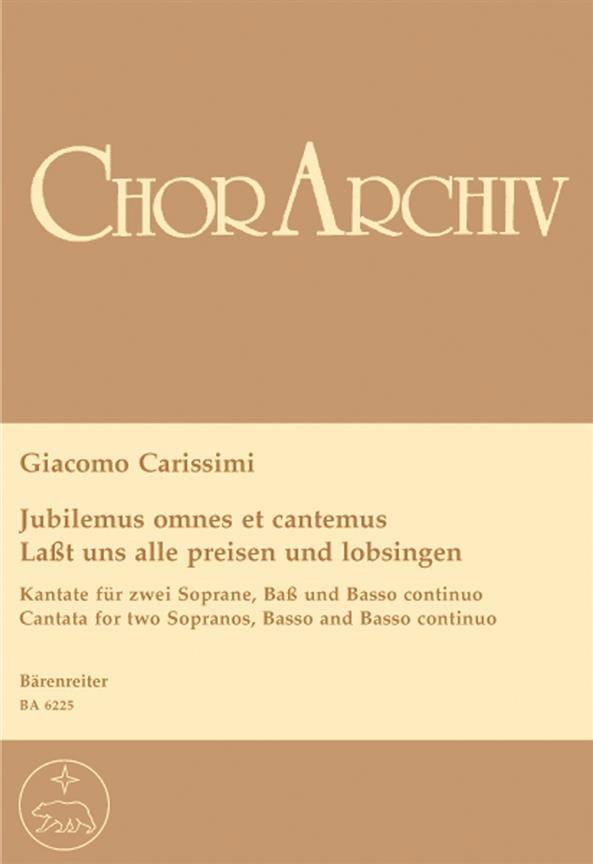 Jubilemus omnes et cantemus - Laßt uns alle preisen und lobsingen - laflutedepan.com