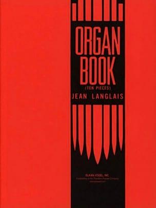 Organ Book Jean Langlais Partition Orgue - laflutedepan