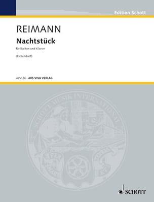 Nachstück Aribert Reimann Partition Mélodies - laflutedepan