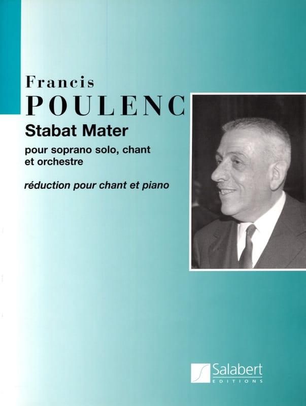 Stabat Mater - POULENC - Partition - Chœur - laflutedepan.com
