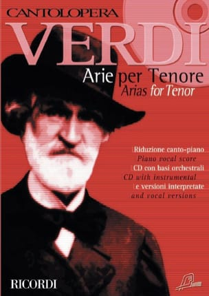 Arie Per Tenore VERDI Partition Opéras - laflutedepan