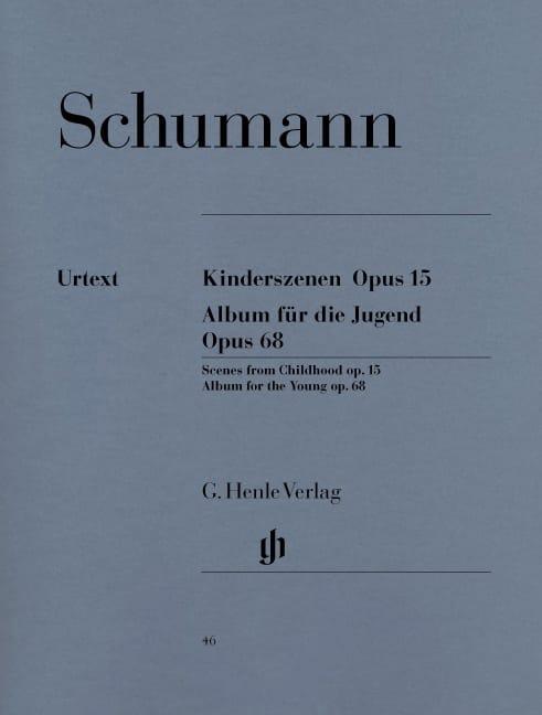 Scènes d'enfants Opus 15 et Album pour la jeunesse Opus 68 - laflutedepan.com