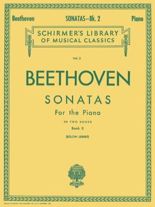 Sonates Volume 2 BEETHOVEN Partition Piano - laflutedepan