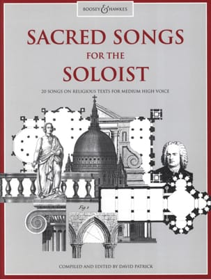 Sacred Songs For The Soloist. Voix Haute Partition laflutedepan