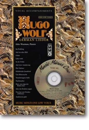 Lieder Voix Grave Hugo Wolf Partition Mélodies - laflutedepan