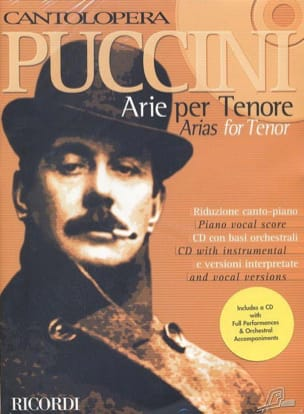 Arie Per Tenore PUCCINI Partition Opéras - laflutedepan