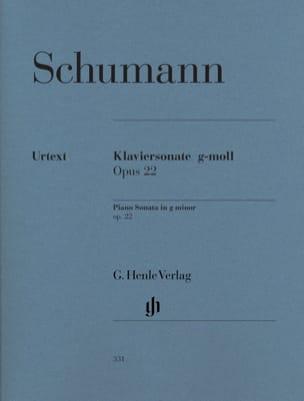 Sonate pour piano en sol mineur Opus 22 SCHUMANN laflutedepan