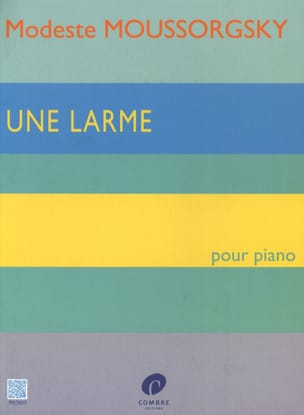 Une Larme MOUSSORGSKI Partition Piano - laflutedepan