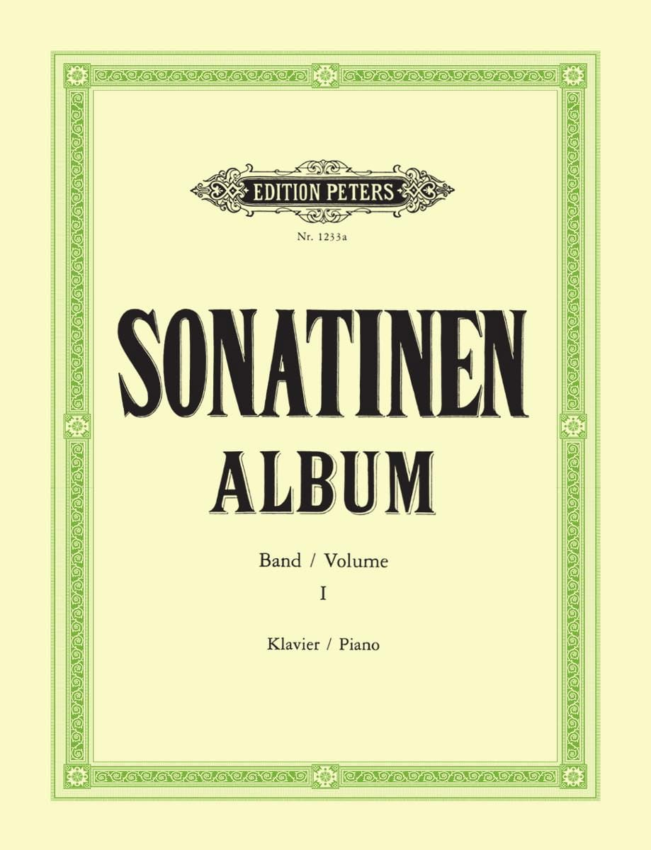Sonatinen album. Volume 1 - Partition - Piano - laflutedepan.com