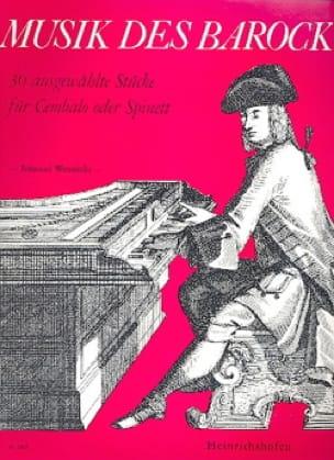 Musik Des Barock - Partition - Clavecin - laflutedepan.com