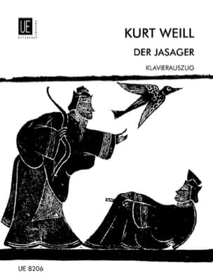 Der Jasager WEILL Partition Opéras - laflutedepan