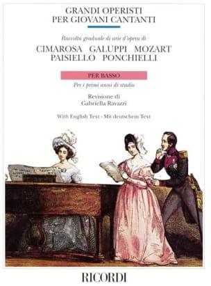 - Grandi Operisti Per Giovani Cantanti. Low - Partition - di-arezzo.com
