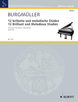 12 Etudes Brillantes et Mélodiques Opus 105 laflutedepan