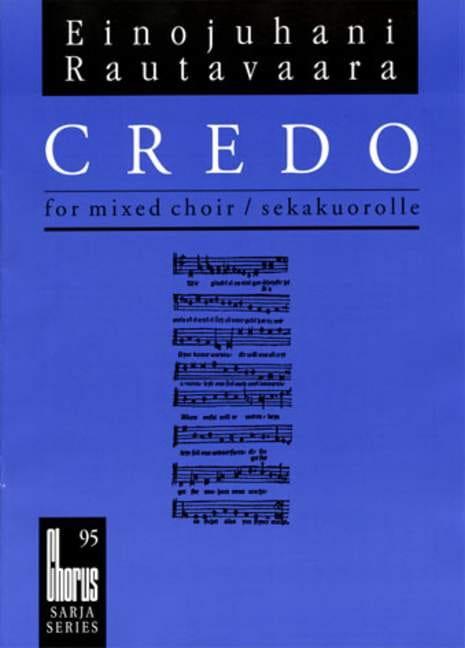 Credo Ch95 - Einojuhani Rautavaara - Partition - laflutedepan.com