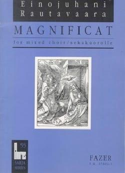 Magnificat Ch 93 Einojuhani Rautavaara Partition Chœur - laflutedepan