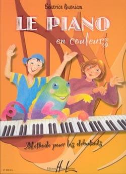Le Piano en couleurs Béatrice Quoniam Partition Piano - laflutedepan