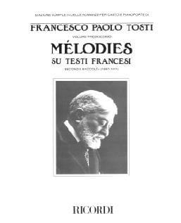 Mélodies Su Testi Francesi Francesco Paolo Tosti laflutedepan