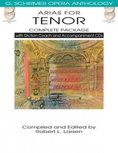 Opera Anthology : Arias for Tenor + 4 CDs Partition laflutedepan