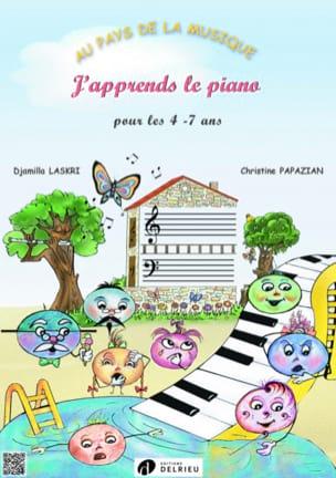J'apprends le Piano Laskri Djamilla / Papazian Christine laflutedepan