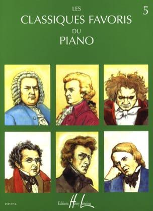 Classiques Favoris Volume 5 Partition Piano - laflutedepan