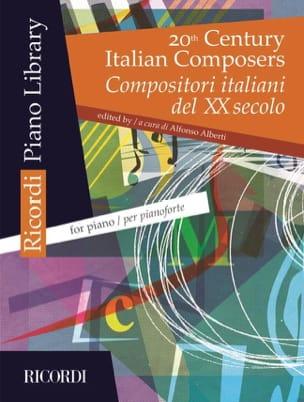 20th Century Italian Composers Partition Piano - laflutedepan
