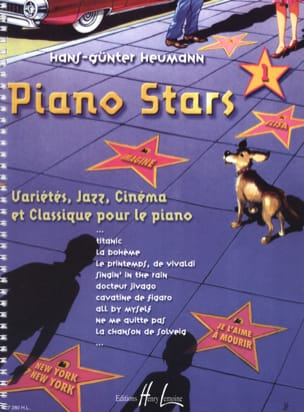 Piano Stars Volume 1 Partition Piano - laflutedepan