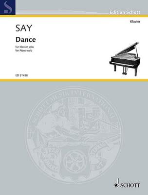 Dance Fazil Say Partition Piano - laflutedepan