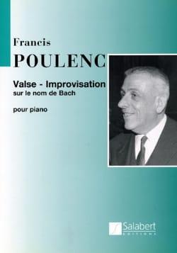 Valse improvisation sur le nom de Bach - POULENC - laflutedepan.com