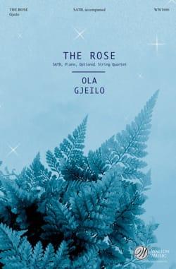 The Rose - SATB Ola Gjeilo Partition Chœur - laflutedepan