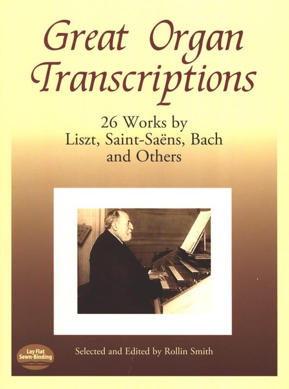 Great Organ Transcriptions - Partition - Orgue - laflutedepan.com