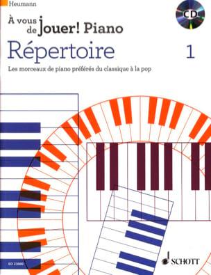 Répertoire - A vous de jouer Volume 1 Hans-Günter Heumann laflutedepan