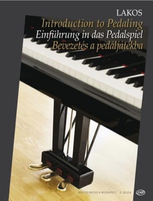 Introduction to Pedaling Divers Partition Piano - laflutedepan