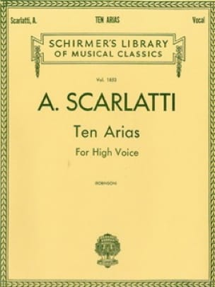10 Arias. Voix Haute - Alessandro Scarlatti - laflutedepan.com