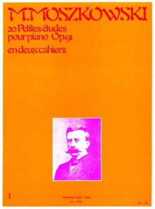 20 Petites Etudes Opus 91 Volume 1 Moritz Moszkowski laflutedepan