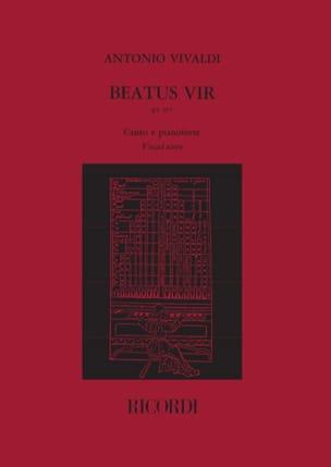 VIVALDI - Beatus Vir - RV 597 - Partition - di-arezzo.com