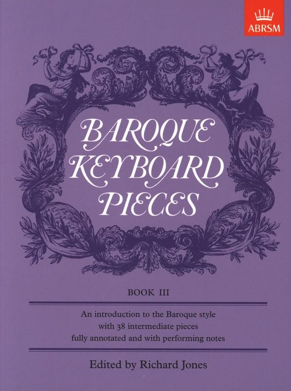 Baroque Keyboard Pieces Volume 3 - Partition - laflutedepan.com