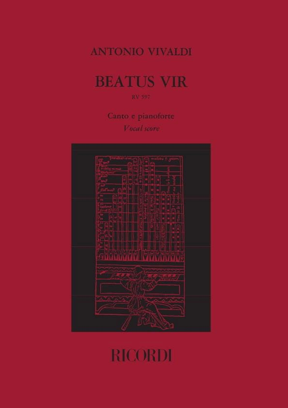 Beatus Vir - RV 597 - VIVALDI - Partition - Chœur - laflutedepan.com