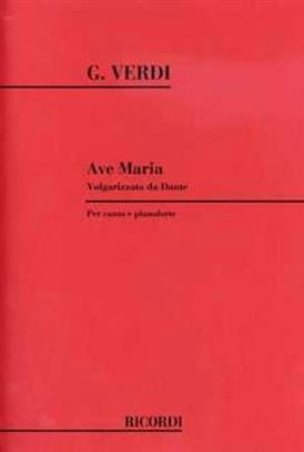 VERDI - Ave Maria 1880 - Partition - di-arezzo.es