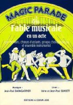 Magic Parade Jean-Paul Baumgartner Partition laflutedepan