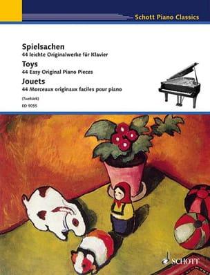 Spielensache / Toys / Jouets Partition Piano - laflutedepan