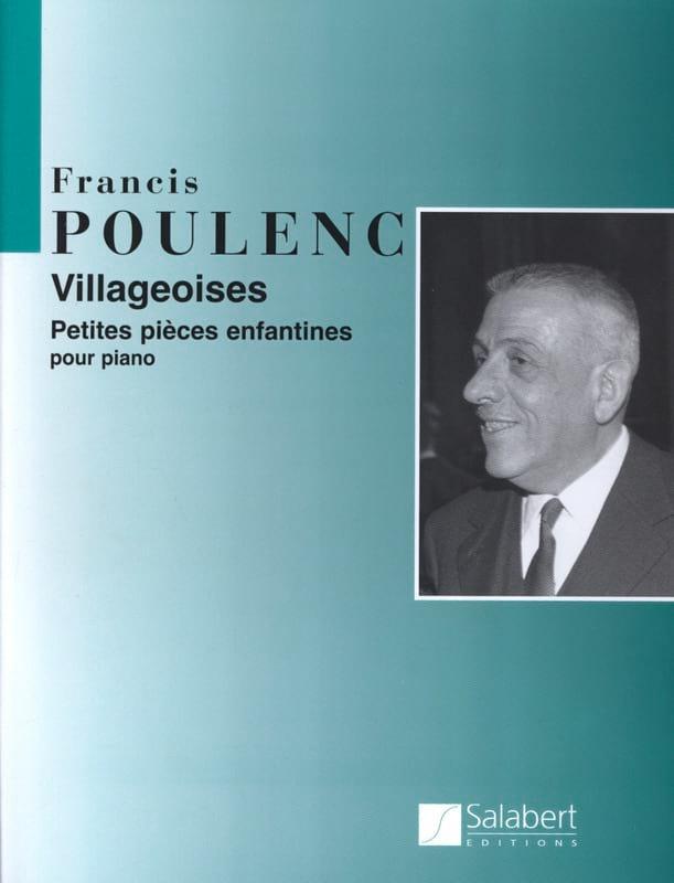 Villageoises - POULENC - Partition - Piano - laflutedepan.com
