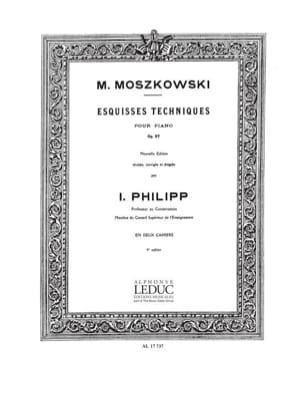 Esquisses Techniques Opus 97 Volume 1 Moritz Moszkowski laflutedepan