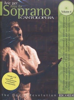 Arie Per Soprano Volume 4 Partition Opéras - laflutedepan