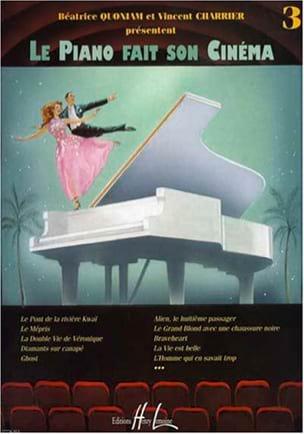 Le Piano Fait son Cinéma. Volume 3 Partition Piano - laflutedepan