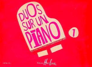 Duos sur un Piano Volume 1 Partition Piano - laflutedepan