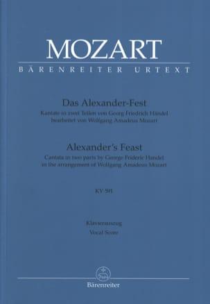 Alexander's Feast. KV 591 - HAENDEL / MOZART - laflutedepan.com