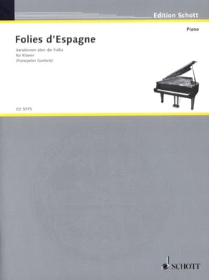 - Folies from Spain - Partition - di-arezzo.co.uk