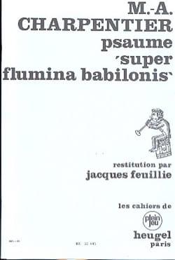 Marc-Antoine Charpentier - Psalm 136 Super Flamina Babilonis - Partition - di-arezzo.co.uk